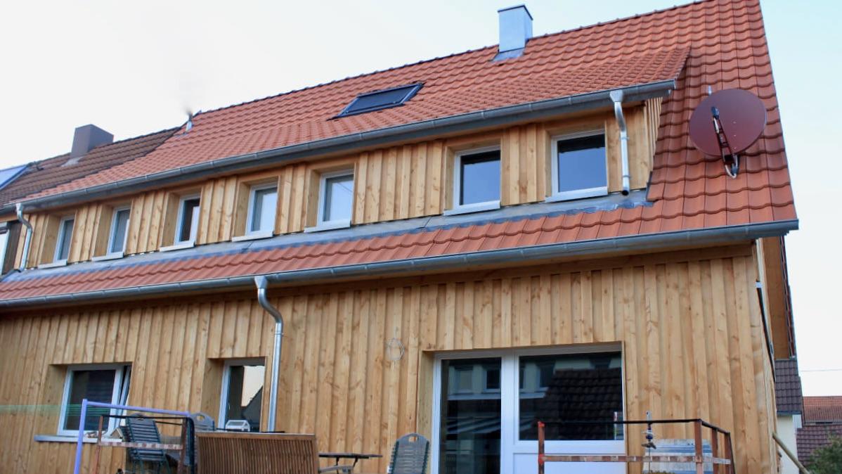 Umbau eines Doppelhauses in Herrenberg