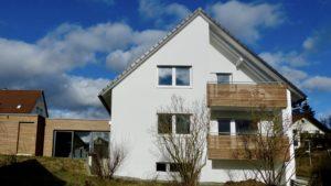 Anbau und Ausbau eines Einfamilienhauses in Nufringen